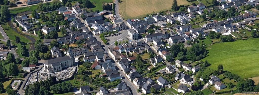Bruges vue aérienne