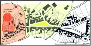 Arzacq, plan