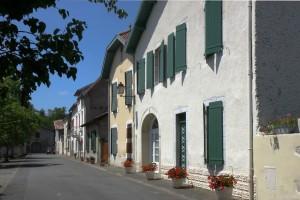 Bellocq, une des rues.