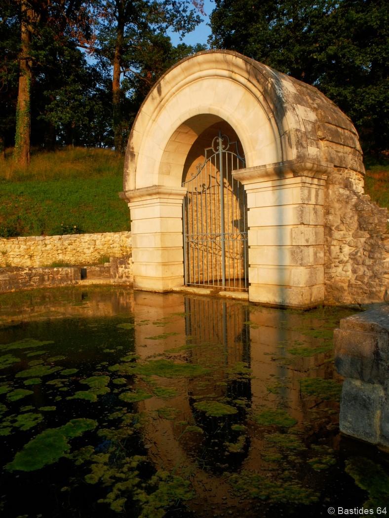 Gan, bains de Broca