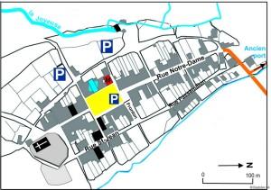 La Bastide-Clairence, plan