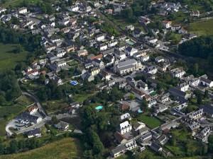 Montaut, vue aérienne