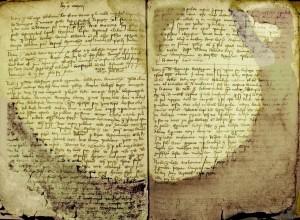 Navarrenx, manuscrit