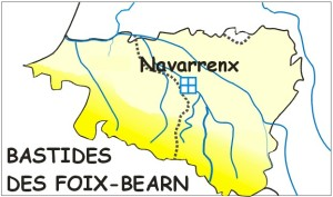 Carte Béarn Navarrenx